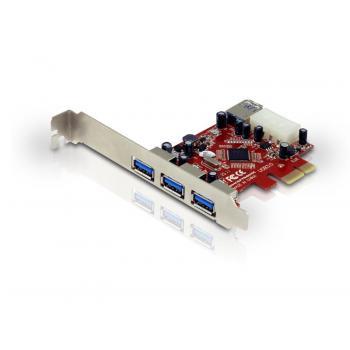 PCI-E kartica 3x USB 3.0 C4USB3EXI