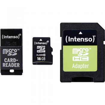 Intenso Micro SD 16GB Class10