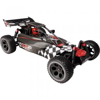 Reely Carbon Fighter EVO , brezkrtačni 1:10 RC model avtomobila Elektro Buggy 4WD RtR 2.4 GHz