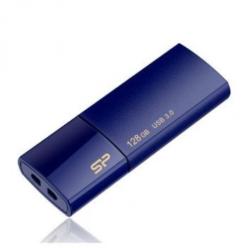 SiliconPower 128GB USB3.0 ključ, moder