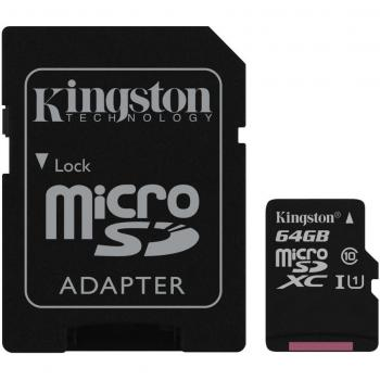 SD MicroSD kartica 64GB Kingston SDXC Canvas