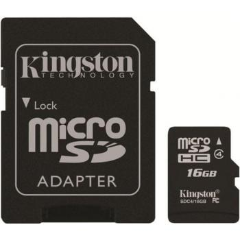 SD MicroSD kartica 16GB Kingston SDHC