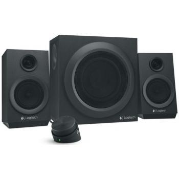 Logitech komplet zvočnikov 2.1 Z333, črni