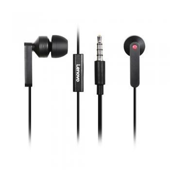Lenovo In-Ear slušalke, črne
