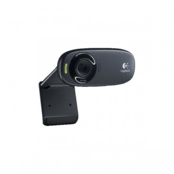 Logitech HD C310 USB, črna