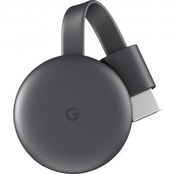 Google Chromecast III sprejemnik in predvajalnik WiFi, črn