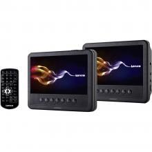 DVD-predvajalnik za v vzglavnik z 2 monitorjema Lenco MES-212
