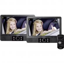 DVD-predvajalnik za v vzglavnik z 2 monitorjema Lenco MES-404