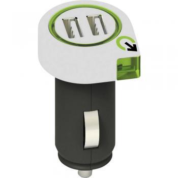 Q2 Power 3.100100 3.100100 USB napajalnik Osebno vozilo, Toprednjio vozilo Izhodni tok maks. 2100 mA 2 x USB