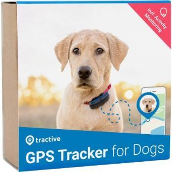 tractive GPS DOG Hunde gps sledilna naprava sledilnik domačih živali črna, modra