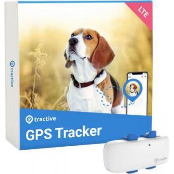 tractive DOG 4 gps sledilna naprava sledilnik domačih živali bela, modra