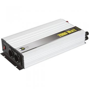 Razsmernik e-ast HPL 2000-12 2000 W 12 V/DC 12 V/DC (11 - 15 V) vijačne objemke, varnostna vtičnica