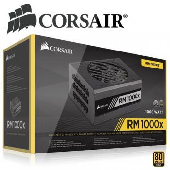 CORSAIR RM1000x enthusiast ATX napajalnik 1000W 80+ gold - ZADNJI KOSI