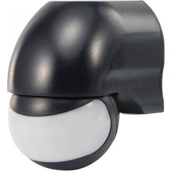 Renkforce detektor gibanja 180° črni, kot zajemanja 180 ° stikalni kontakt: rele IP44