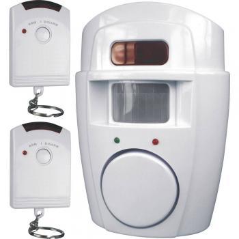 Mini alarm z daljinskim upravljanjem 2x 105 dB Smartwares SC09