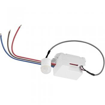 Goobay 96006 Mini vgradni detektor gibanja 360° bele barve