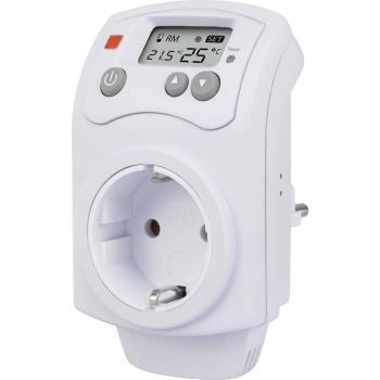 Sobni termostat vmesni vtič 5 do 30 °C Renkforce MH-850T