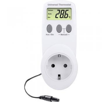 Univerzalni termostat, vtikač -40 do 99 °C Renkforce UT300