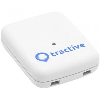 GPS sledilna naprava za živali Tractive, za pse in mačke, bela