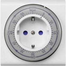 Analogni časomer za vtičnico Sygonix, IP20, odštevalnik časa