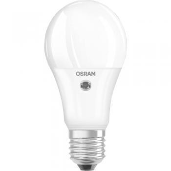 LED E27 klasična oblika 8.5 W = 60 W topla bela EEK: A+ OSRAM vključ. senzor dnevne svetlobe