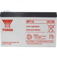 Svinčev akumulator 12 V 7 Ah Yuasa NP7-12 NP7-12 svinčevo-koprenast (AGM) 151 x 98 x 65 mm ploščati vtič 4.8 mm brez vzdrževanja