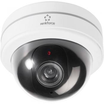 Imitacija kupolaste kamere z utripajočo LED