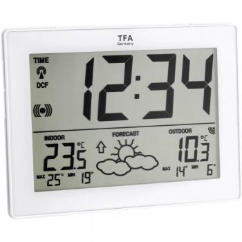 TFA IT Brezžična vremenska postaja, bele barve 35-1125-02-IT
