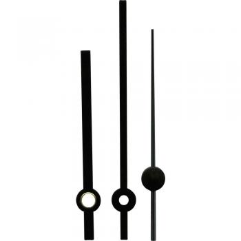 Komplet kazalcev Standard, aluminij, črne barve, 60 x 80 x 60 mm, okrogli 195036