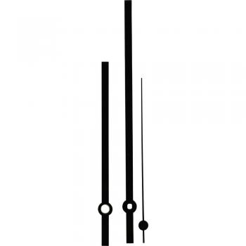 Komplet kazalcev Standard, aluminij, črne barve, 100 x 140 x 100 mm, ploščati 197943