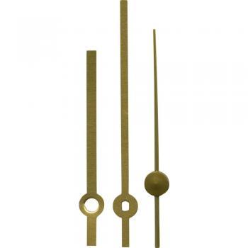 Komplet kazalcev Standard, polirana medenina, 100 x 140 x 100 mm, ploščati 197951