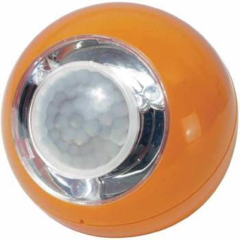 Prenosna mini svetilka, LED svetlobna krogla z detektorjem gibanja 00742, 3 LED