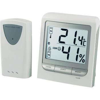 CE Veliki brezžični termometer/vlagomer s senzorjem