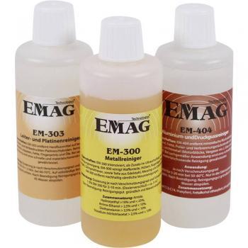 3-delni preizkusni komplet zadelavnico, vsak po 100 ml Emag