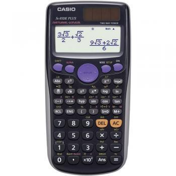 Casio fx-87DE X CLASSWIZ tehnično znanstveni kalkulator črna Zaslon (postavitev): 16 na sončno energijo, baterijsko