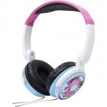 Muse M-180 KDG otroške over ear slušalke over ear zložljive, omejitev glasnosti roza