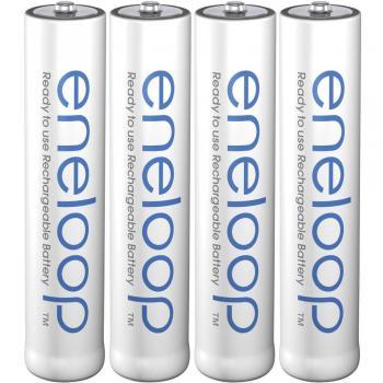Micro (AAA) akumulator NiMH Panasonic eneloop AAA 750 mAh 1.2 V 4 kosi