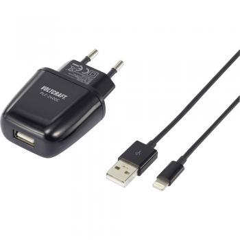 Polnilna naprava za iPad/iPhone/iPod vtična VOLTCRAFT PLC-2400C izhodni tok (maks.) 2400 mA