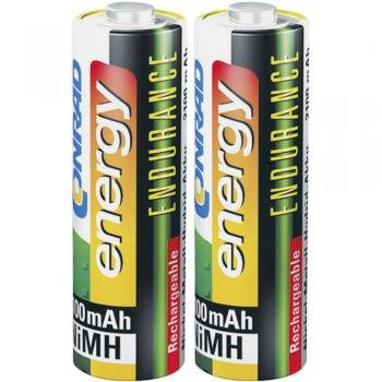 Mignon (AA) akumulatorska baterija NiMH Conrad energy Endurance HR06 2600 mAh 1.2 V 2 kosa