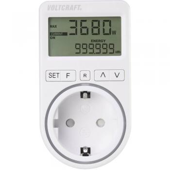 VOLTCRAFT SEM4500 merilnik stroškov energije, funkcija alarma, nastavljiva tarifa
