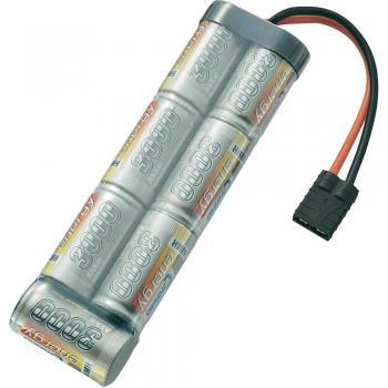 NiMH akumulatorski paket Conrad energy, Sub-C, 8,4 V, 3.000mAh, vtični sistem: Traxxas SC 3000MAH 8.4V