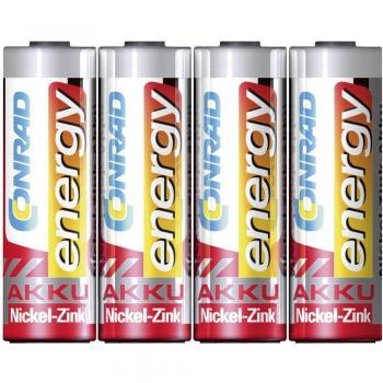 Mignon (AA) akumulator NiZn Conrad energy HR06 1500 mAh 1.6 V 4 kosi