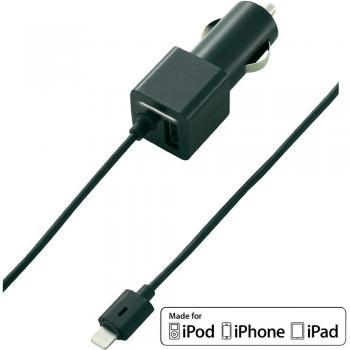 USB napajalnik za avtomobile VOLTCRAFT CLC-4800USB izhodni tok (maks.) 2400 mA 2 x USB, Apple Dock-vtič Lightning