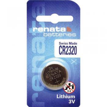 Gumbna baterija CR 2320 litijeva Renata CR2320 150 mAh 3 V, 1 kos/Energija/Conrad.si