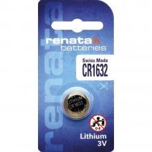 Gumbna baterija CR 1632 litijeva Renata CR1632 137 mAh 3 V, 1 kos