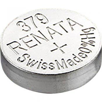 Gumbna baterija 379 srebrovo-oksidna Renata SR63 16 mAh 1.55 V, 1 kos
