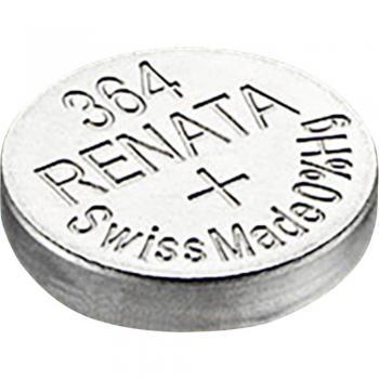 Gumbna baterija 364 srebrovo-oksidna Renata SR60 19 mAh 1.55 V, 1 kos