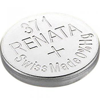 Gumbna baterija 371 srebrovo-oksidna Renata SR69 35 mAh 1.55 V, 1 kos