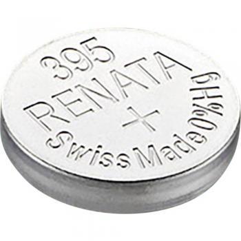 Gumbna baterija 395 srebrovo-oksidna Renata SR57 55 mAh 1.55 V, 1 kos