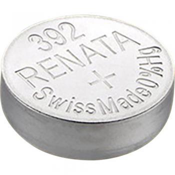 Gumbna baterija 392 srebrovo-oksidna Renata SR41 primerna za visoke tokove 45 mAh 1.55 V, 1 kos
